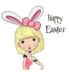 Greeting Easter Card vector