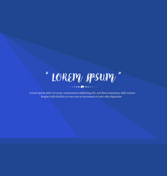 modern background design with blue color abstract vector image