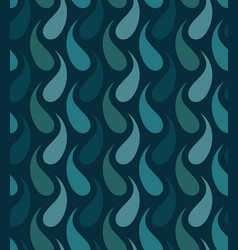 seamless background with drops vector image