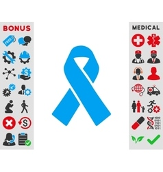 Solidarity Ribbon Icon vector