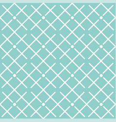 square grid pattern design blue background vector image
