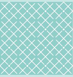 square grid pattern design blue background vector image