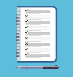 to do list icon design icon do list a checklist vector image
