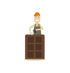 coffee house people in flat vector image vector image