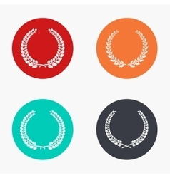 modern quality colorful icons set vector image vector image