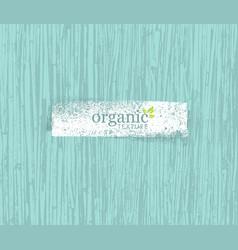 organic nature friendly eco bamboo background bio vector image vector image