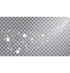 The mysterious starry space vector image vector image