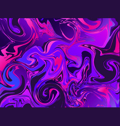 liquid abstract colorful gradient shapes marble vector image