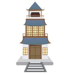 Oriental House vector
