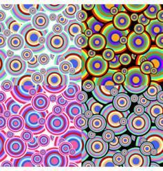 seamless spots vector image