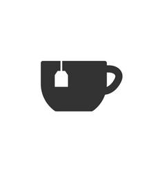 tea icon graphic design template vector image