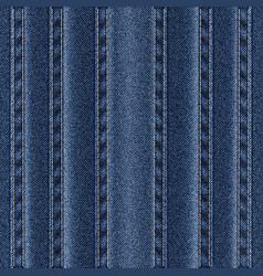 Texture vertical seams on denim vector