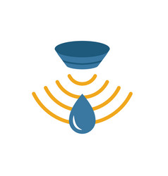 Water sensor icon simple element from sensors vector