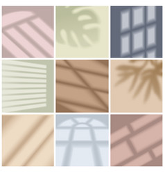 window light set vector image