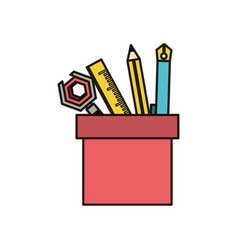 writing tools design vector image
