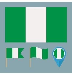 Nigeriacountry flag vector