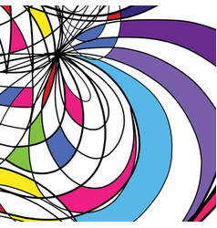 Abstract drawing background vector
