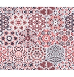 Abstract seamless pattern tiles vector