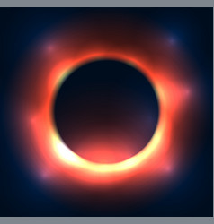 Cosmic a black hole the explosion old vector