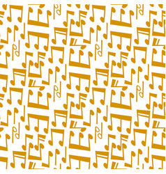 notes music melody colorfull musician symbols vector image