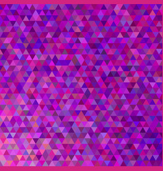 purple geometric polygonal triangle pattern vector image