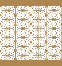 Seamless pattern kumiko vector