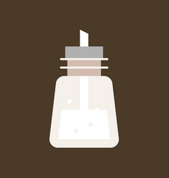 Sugar dispenser vector