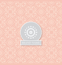 vintage indian style background vector image