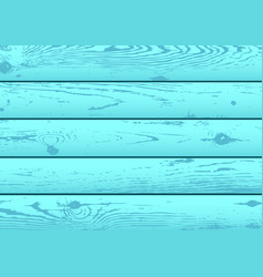 blue azure wood texture backdrop vector image vector image