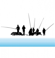 fisher vector image vector image