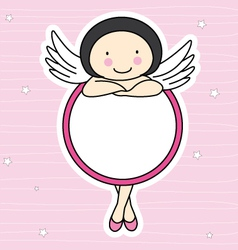 frame fairy vector image vector image