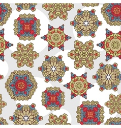 Seamless pattern with decoration vector image vector image