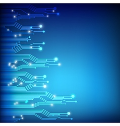Abstract background circuit connection concept vector image