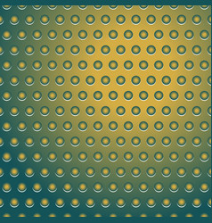 dotted pattern yellow and green vector image