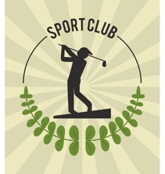 Golf icon design vector