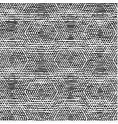 Grunge hexagon gray marl heather seamless pattern vector