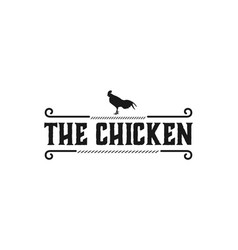 head chicken rooster logo designs inspiration vector image