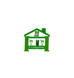 Home painting logo vector