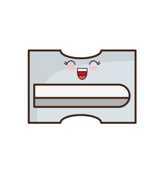 kawaii sharpener icon image vector image