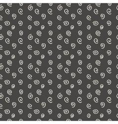 Modern seamless pattern spirals vector image