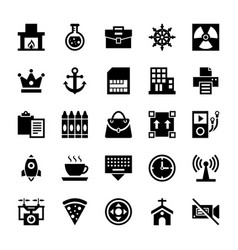 Responsive interface icons collection vector