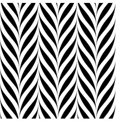 seamless floral pattern weave striped vector image