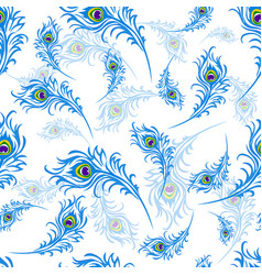 seamless pattern for the holiday of janmastami vector image