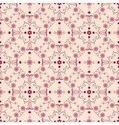 Arabesque seamless background vector image