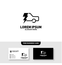 Car service and piston logo design and business vector