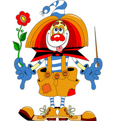 Clown purim vector