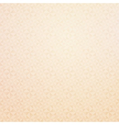 Geometric background beige vector