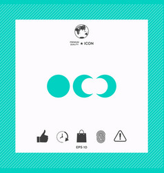 phases of the moon icons vector image