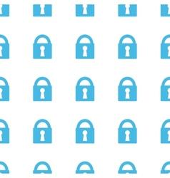 Unique Lock seamless pattern vector image