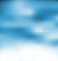 Abstract blur blue background vector image